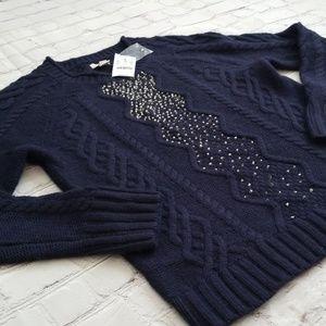 NWT Super soft J.Crew sweater -sz M-